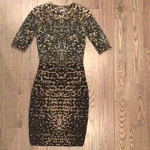 M Missoni Lizard Jacquard Dress